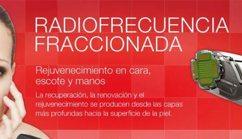 Fraxface Radio frecuencia fraccionada